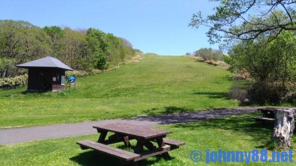 北海道立宗谷ふれあい公園オートキャンプ場のゲレンデ