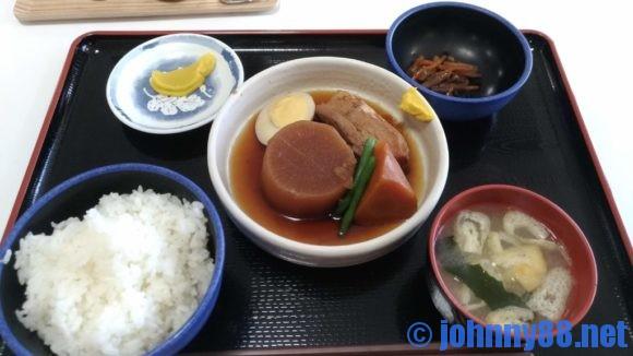 札幌白石区役所食堂のしろっぴーランチ