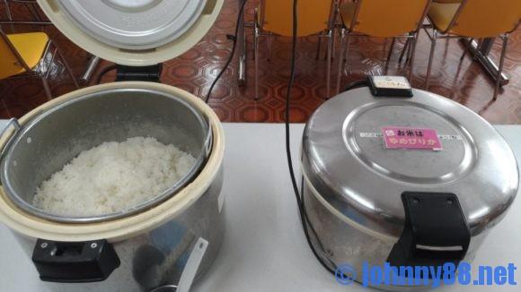 豊平区役所食堂のお米はゆめぴりか