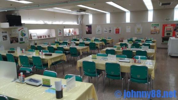 厚別区役所食堂