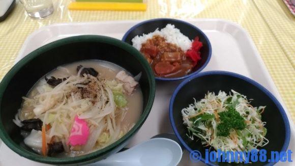 厚別区役所食堂の厚別ちゃんぽん麺