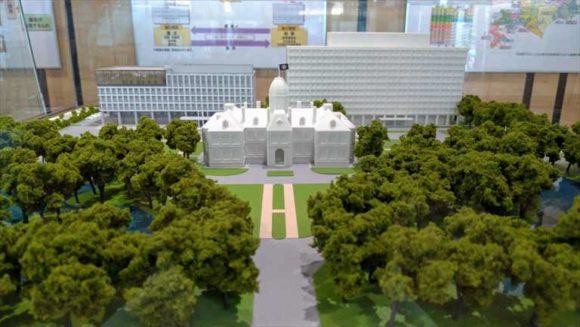 新しくなった北海道議会議事堂1階