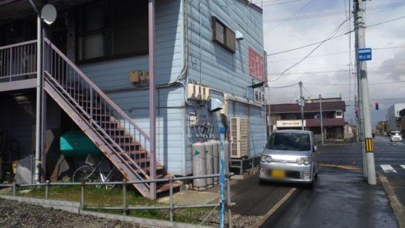 そば処 緑寿庵の駐車場