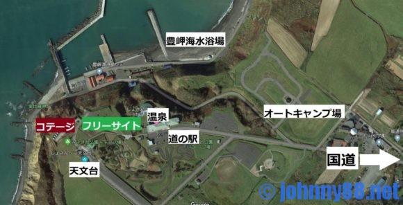 みさき台公園キャンプ場周辺MAP