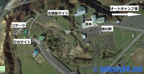 みさき台公園キャンプ場MAP