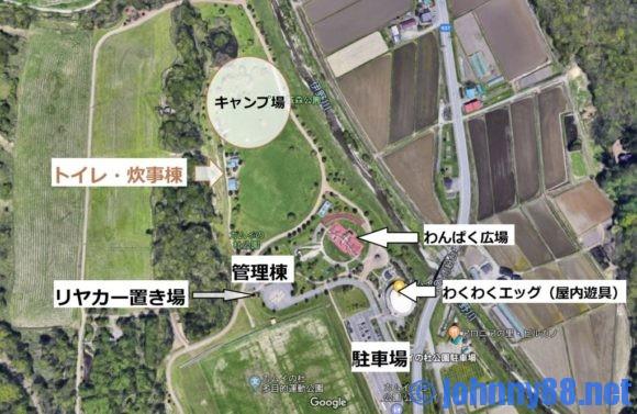 カムイの杜公園キャンプ場MAP