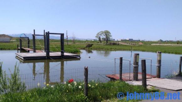 アースドリーム角山農場の池