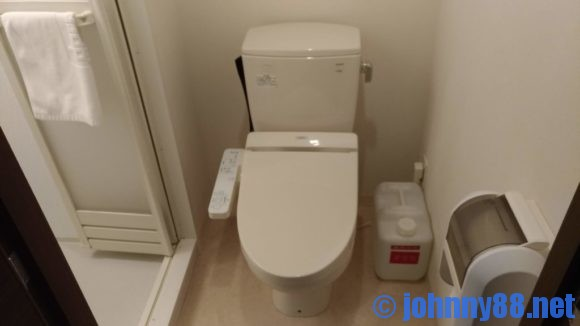 ドーミーイン稚内のトイレ