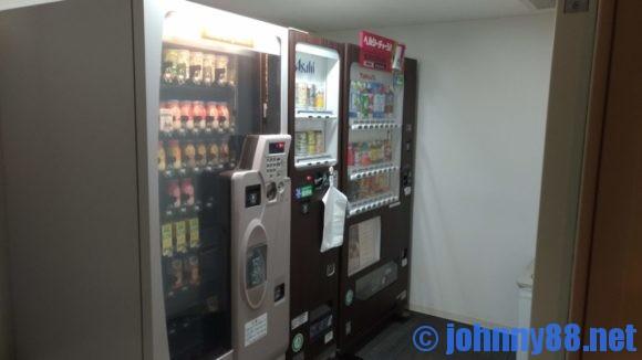 ドーミーイン稚内の自動販売機