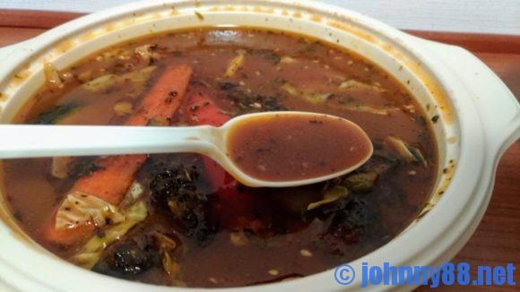 プチガラクのスープカレー(ヤゲン)