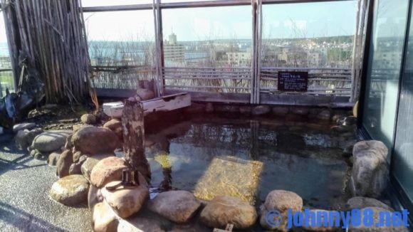 ドーミーイン稚内の露天風呂