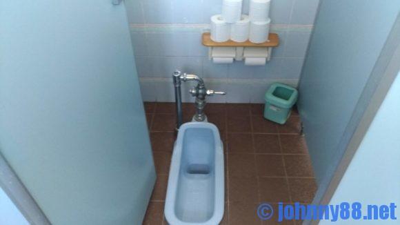 みさき台公園キャンプ場のトイレ