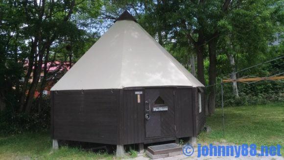 テントハウス(朝里川温泉オートキャンプ場のパオハウス