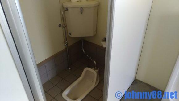 旭川市21世紀の森キャンプ場ファミリーゾーンのトイレ