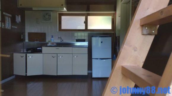 旭川市21世紀の森キャンプ場ファミリーゾーンのバンガロー
