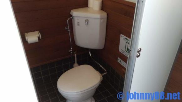 旭川市21世紀の森キャンプ場ファミリーゾーントイレ