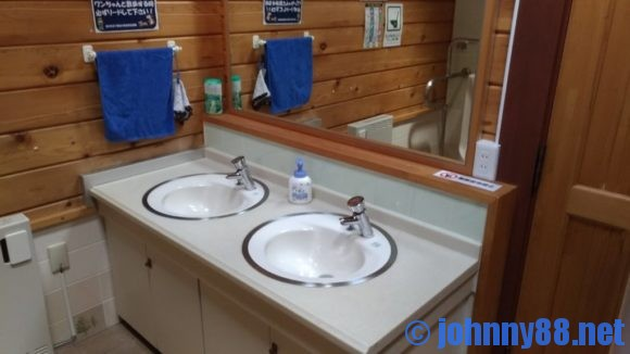 旭川市21世紀の森キャンプ場ふれあい広場トイレ
