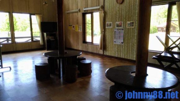 旭川市21世紀の森キャンプ場ログハウス