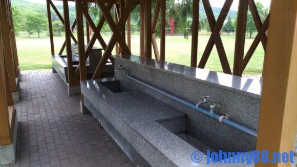 カムイの杜公園キャンプ場炊事棟