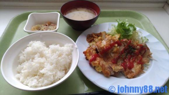 手稲区役所食堂のA定食