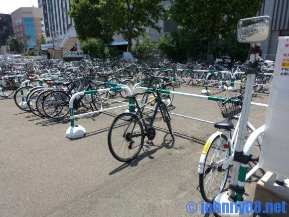 えきチャリさっぽろの自転車