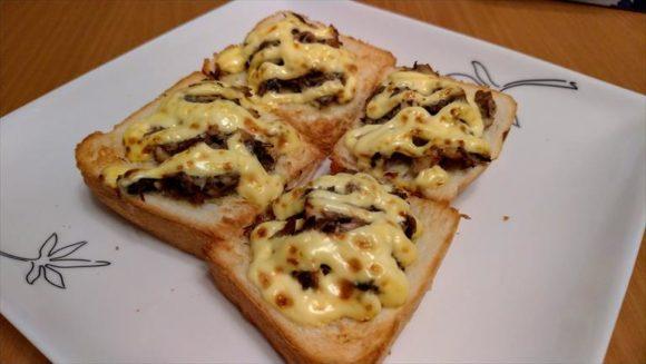 おかめやの食パンでサバサンド