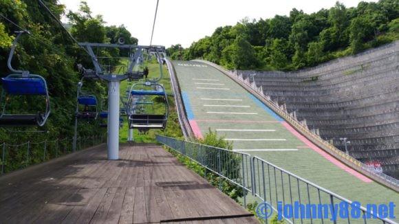 大倉山ジャンプ競技場リフト