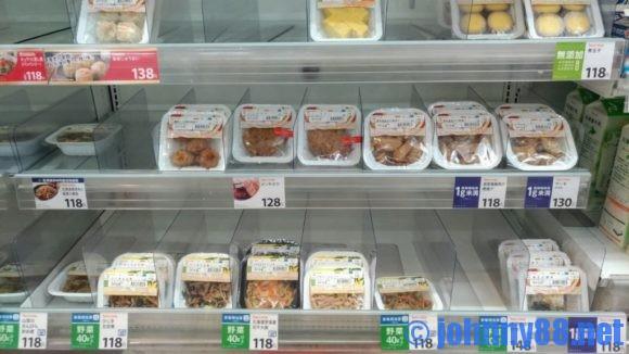 セイコーマートのお惣菜コーナー