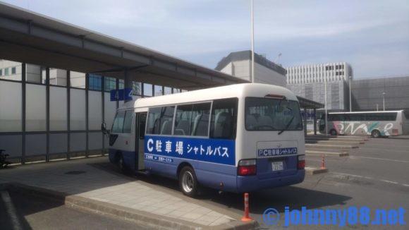 新千歳空港駐車場送迎バス