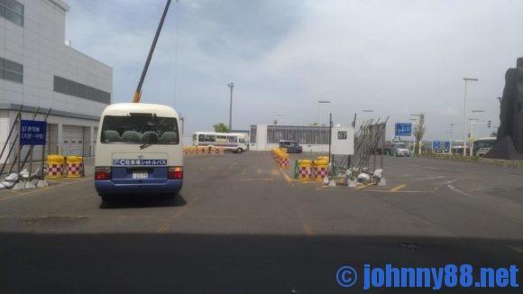 新千歳空港67番バス乗り場