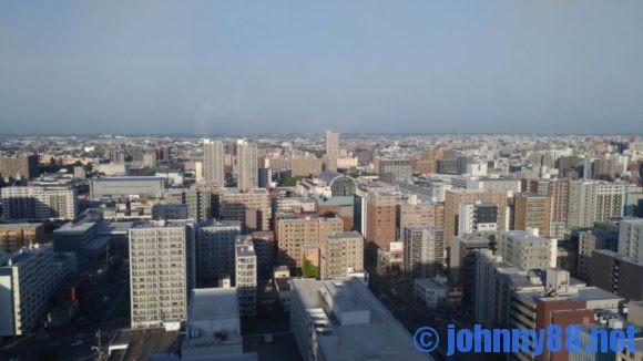 ANAクラウンプラザホテル札幌スカイラウンジサッポロビューからの眺望