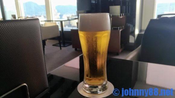 スカイラウンジサッポロビューのビール