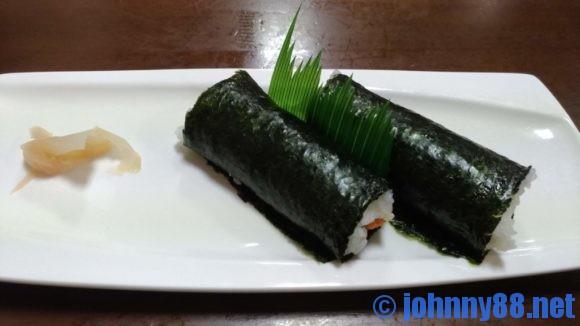 寿司まつくらの海苔巻き