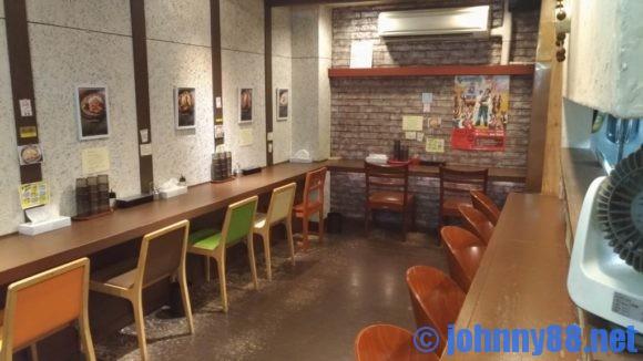 黒岩咖哩飯店店内