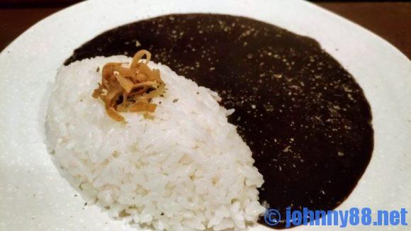 黒岩咖哩飯店の黒辛カレー