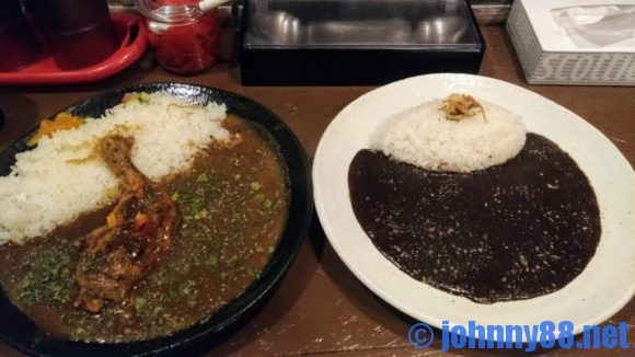 黒岩咖哩飯店のカレー