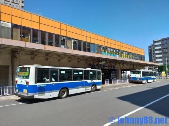 円山バスターミナル