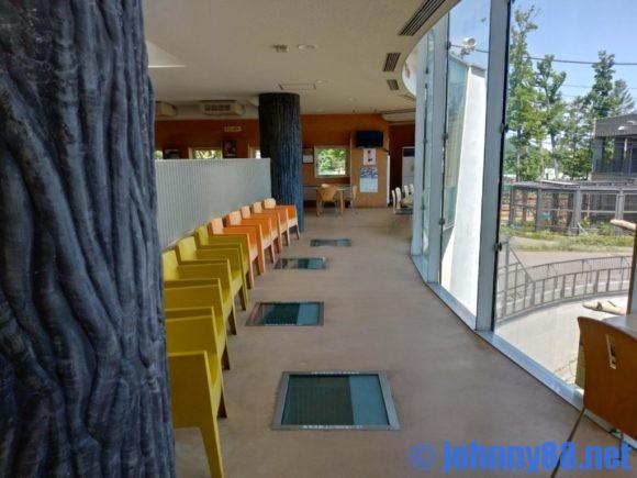 円山動物園の展望レストハウス