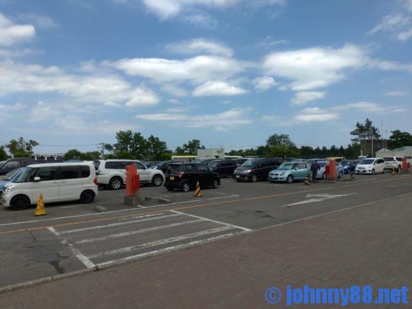 円山動物園第一駐車場(屋上)