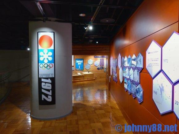 札幌オリンピックミュージアム2階