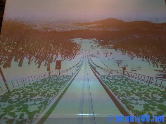 札幌オリンピックミュージアムのスキージャンプ大倉山