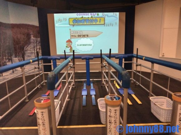 札幌オリンピックミュージアムのクロスカントリー スキー・レース