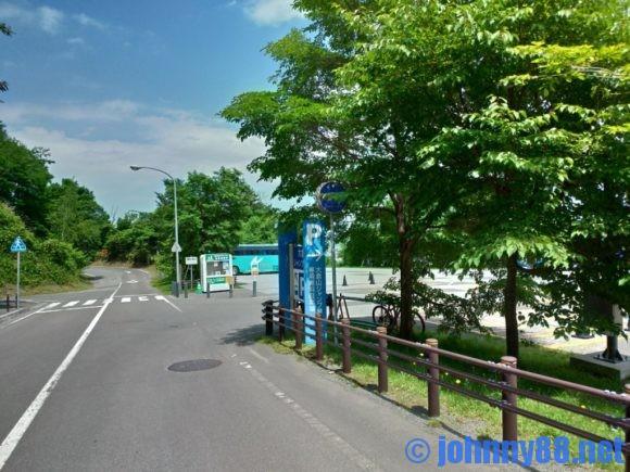 大倉山ジャンプ展望台駐車場