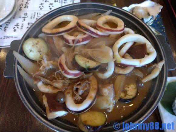 開陽亭のイカゴロ焼