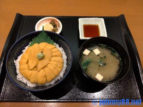 札幌おすすめうにむらかみのうに丼