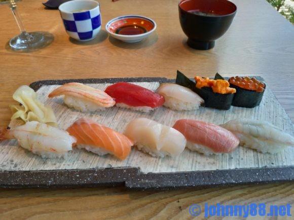 鮨棗の握り寿司