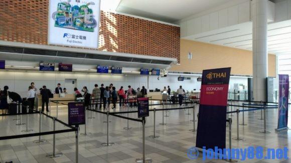 新千歳空港国際線チェックインカウンター