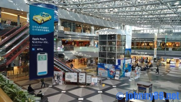 新千歳空港2階ショッピングワールド