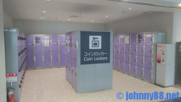 新千歳空港のコインロッカー