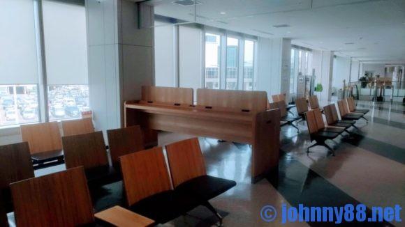 新千歳空港内無料充電スペース